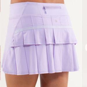 Rare! Lululemon Run: Pace Setter Skirt